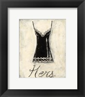 Framed Hers- French Lace