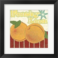 Framed Peachy Keen (Pp)