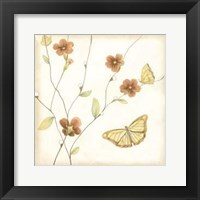 Framed Butterfly Branch