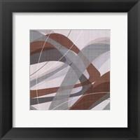 Mint Ripple II Framed Print