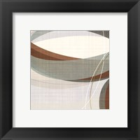 Mint Ripple III Framed Print