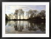 Framed Frozen Reflections