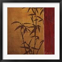 Modern Bamboo II Framed Print