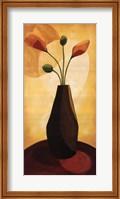 Framed Floral Expressions I