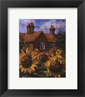 Framed Cottage Of Delights I