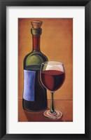 Framed Red Wine