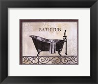 Framed Bath Silhouette II
