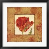 Framed Les Tulipes I
