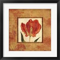 Framed Les Tulipes II