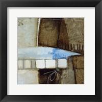 Framed Blue Elements II