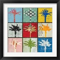 Framed Palm Variations I