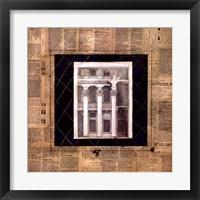 Framed Architectural Elevation I