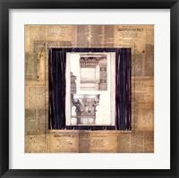 Framed Architectural Elevation II