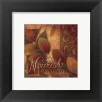 Nourish Framed Print