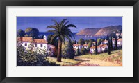 Palm Trail Framed Print