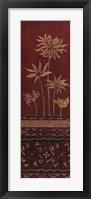 Flores Del Oro I Framed Print