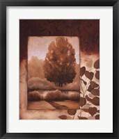 Fall Vignette II Framed Print