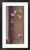 Framed Blossom Tapestry I