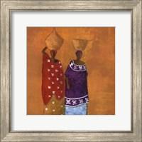 Framed Colorful Dresses