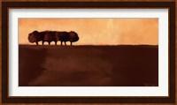 Framed Meadowlands I