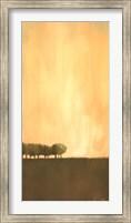 Framed Cluster of Trees I
