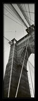 Framed Brooklyn Bridge - East Tower
