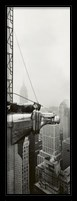 Framed Chrysler Building - Eagle