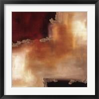 Framed Crimson Accent II