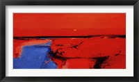 Framed Coastal Horizon II