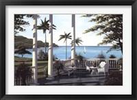 Framed Caribbean Comfort