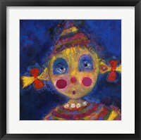 Framed Petit Clown Nina