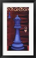 Framed Game Piece - Queen