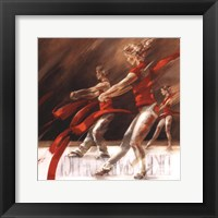 Framed Dancing Ribbons
