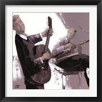 Framed La Guitare