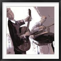 La Guitare Framed Print
