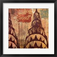 New York Chrysler Building II Framed Print