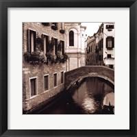 Ponti Di Venezia No. 2 Framed Print