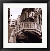 Ponti Di Venezia No. 3 Framed Print