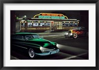 Framed Mickey'S Diner
