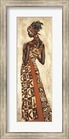 Framed Femme Africaine II