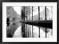 Framed Canal, Normandy