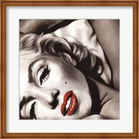 Framed Marilyn Monroe - Allure