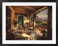 Framed View From The Veranda