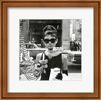 Framed Audrey Hepburn – Window