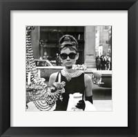 Framed Audrey Hepburn – Window
