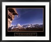Framed Perseverance – Cliffhanger