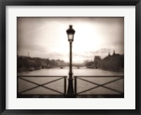 Framed Pont Des Arts, Paris