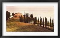 Framed Tuscan Hills