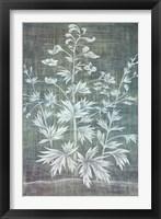 Framed Floral Tapestry I
