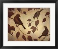 Framed Bird Song I